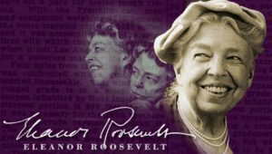 Image of Eleanor Roosevelt - Freedom